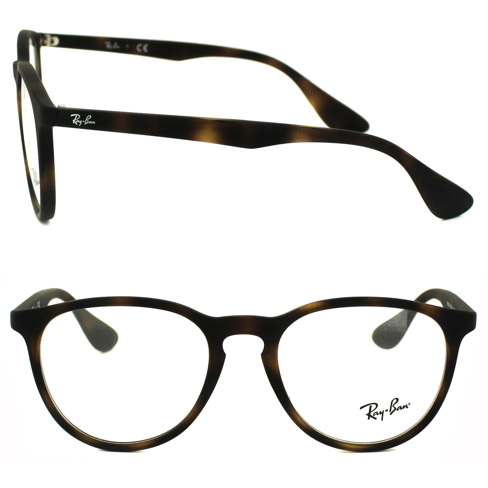 46a4ff0624 Ray-Ban Glasses Frames 7046 5365 Rubberised Havana 8053672357844