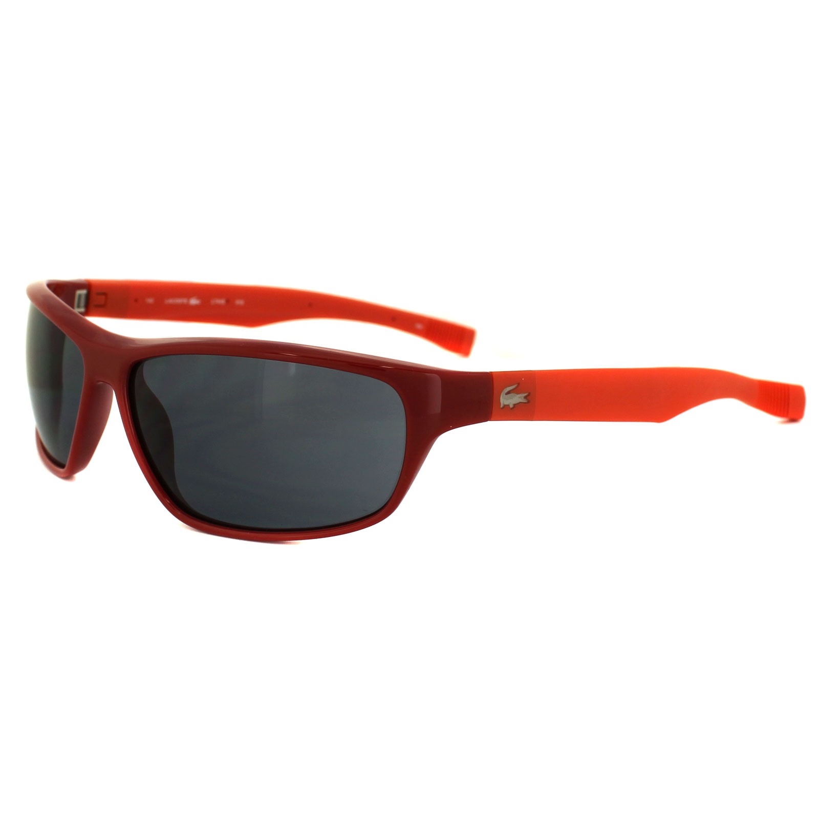 9cbd0e0506f Lacoste Sunglasses L744S 615 Red Grey 886895201865