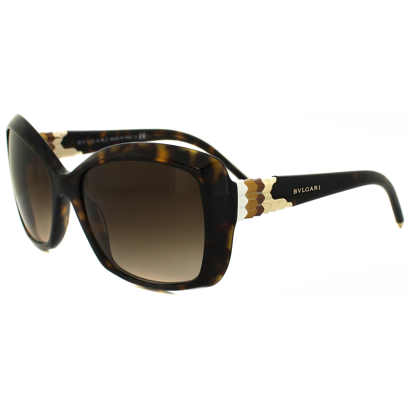90ea708981c Bvlgari Sunglasses 8133 504 13 Havana Brown Gradient 8053672179064 ...