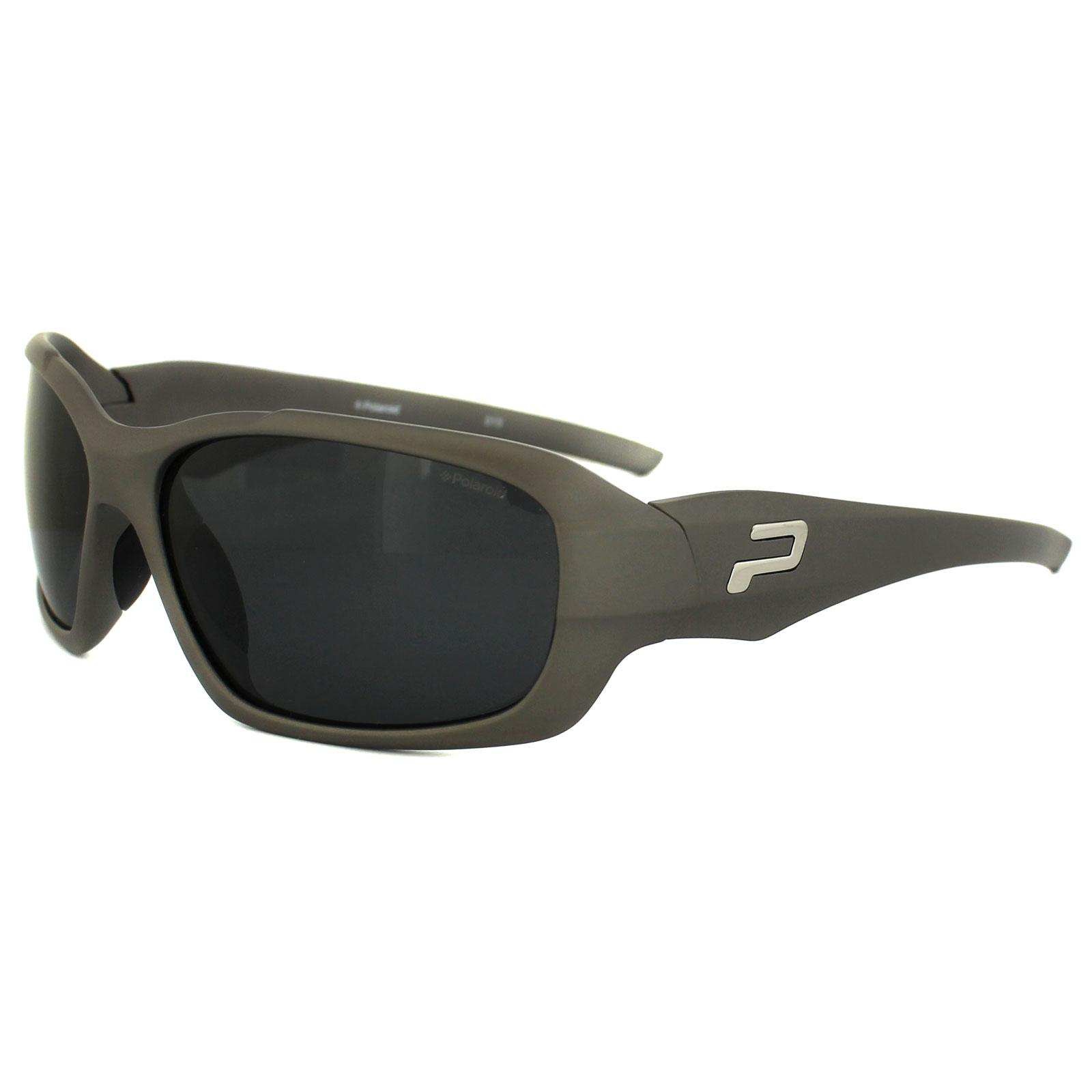 Polaroid Sport Sonnenbrille P8250 KIH Y2 Schwarz Grau Polarisiert wPNpnLzdGu