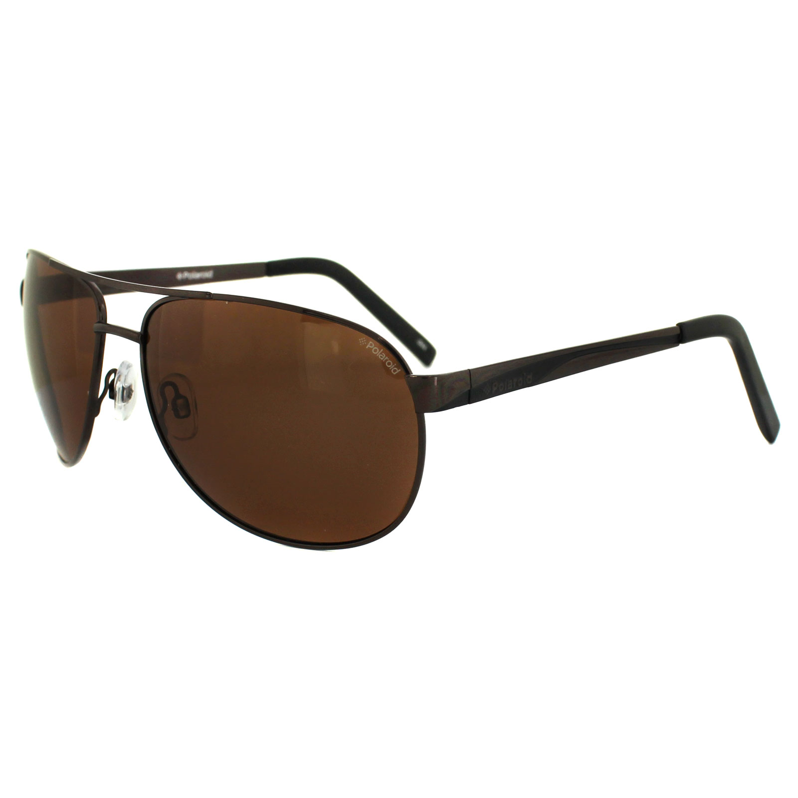 00cdd7fad600 Sentinel Polaroid Sunglasses P4402 00T HE Dark Brown Copper Polarized