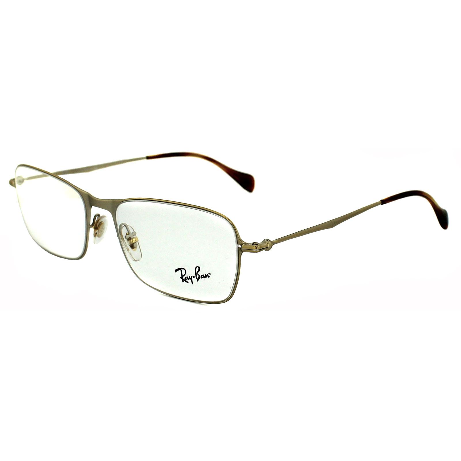 aeb2e8c8301fa Ray-Ban Glasses Frames 6253 2754 Semi Shiny Gold 8053672060034