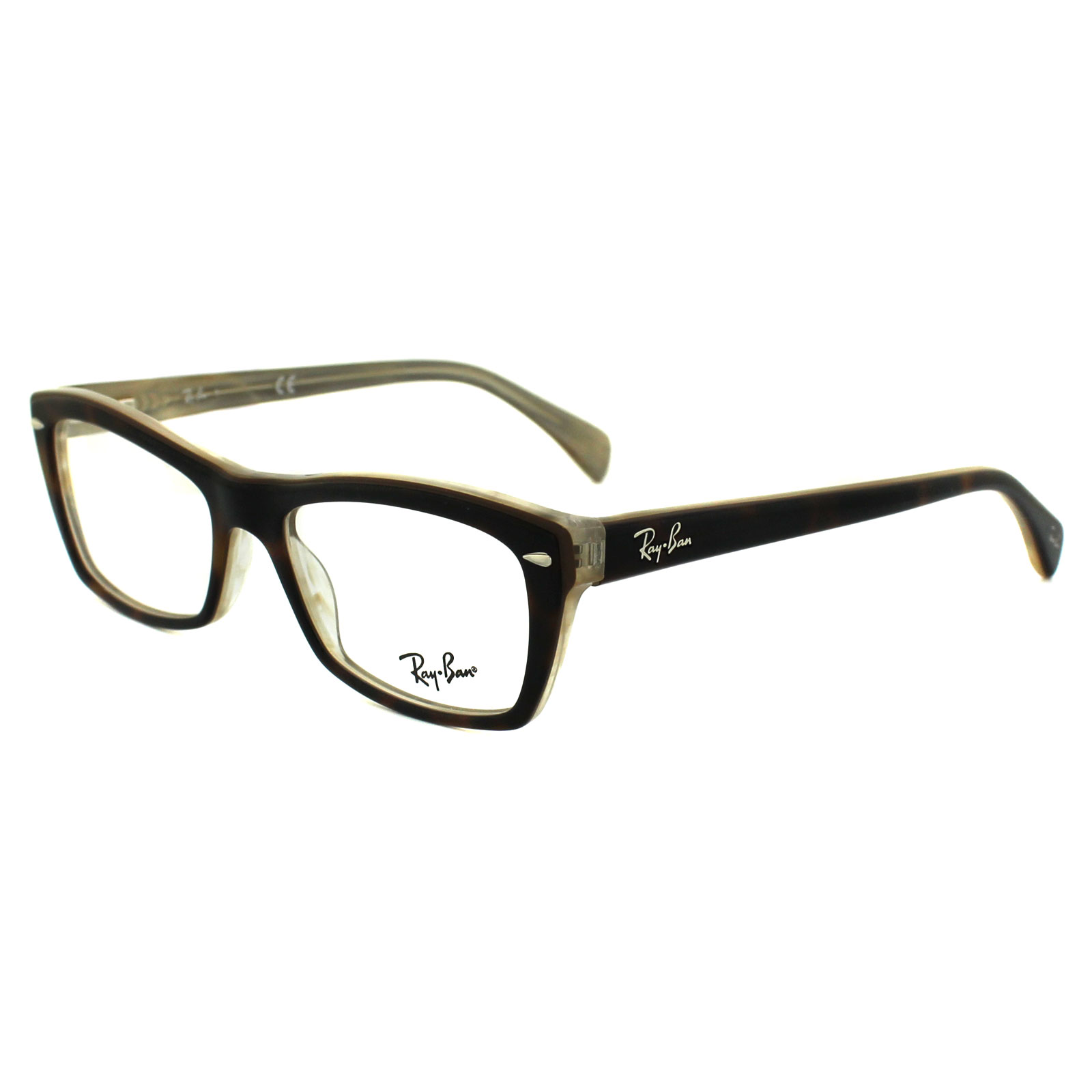 7d57a0806f ... sale sentinel ray ban glasses frames 5255 5075 havana transparent da0dc  b6550