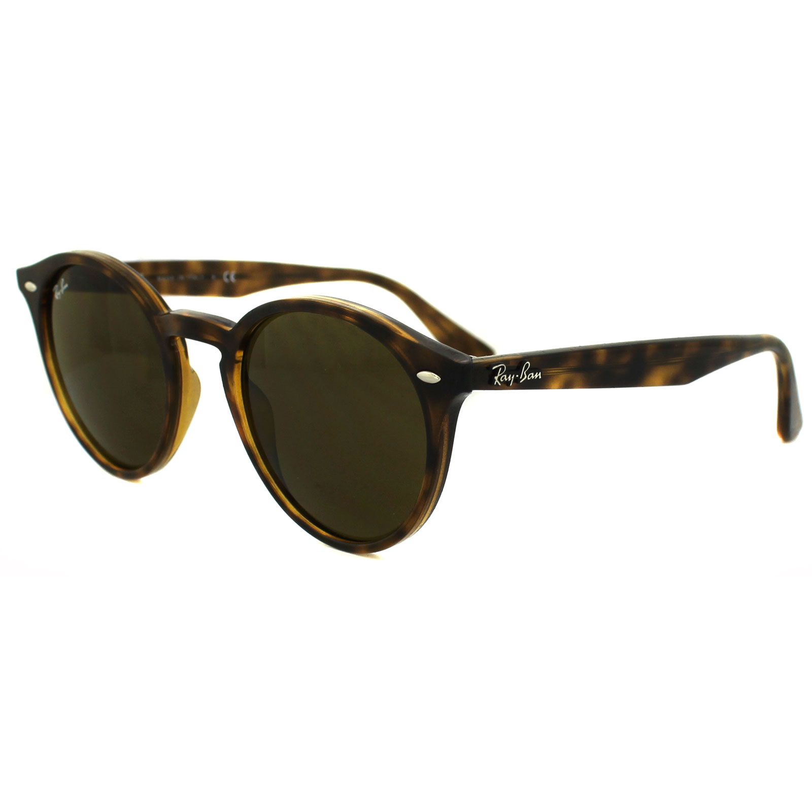 Sentinel Ray-Ban Sunglasses 2180 710/73 Tortoise Brown B-15