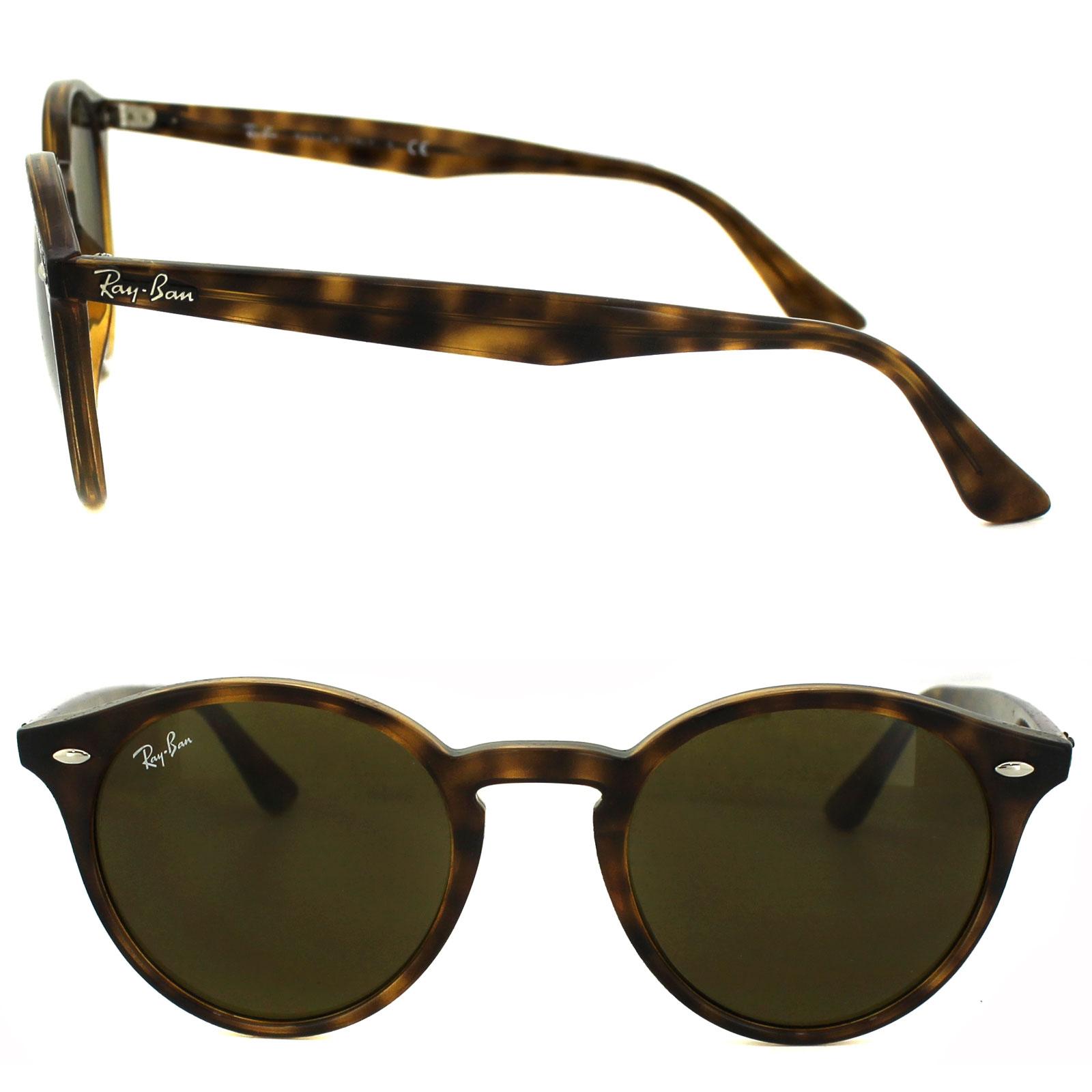 212101e2e0 Ray-Ban Sunglasses 2180 710 73 Tortoise Brown B-15 8053672358612