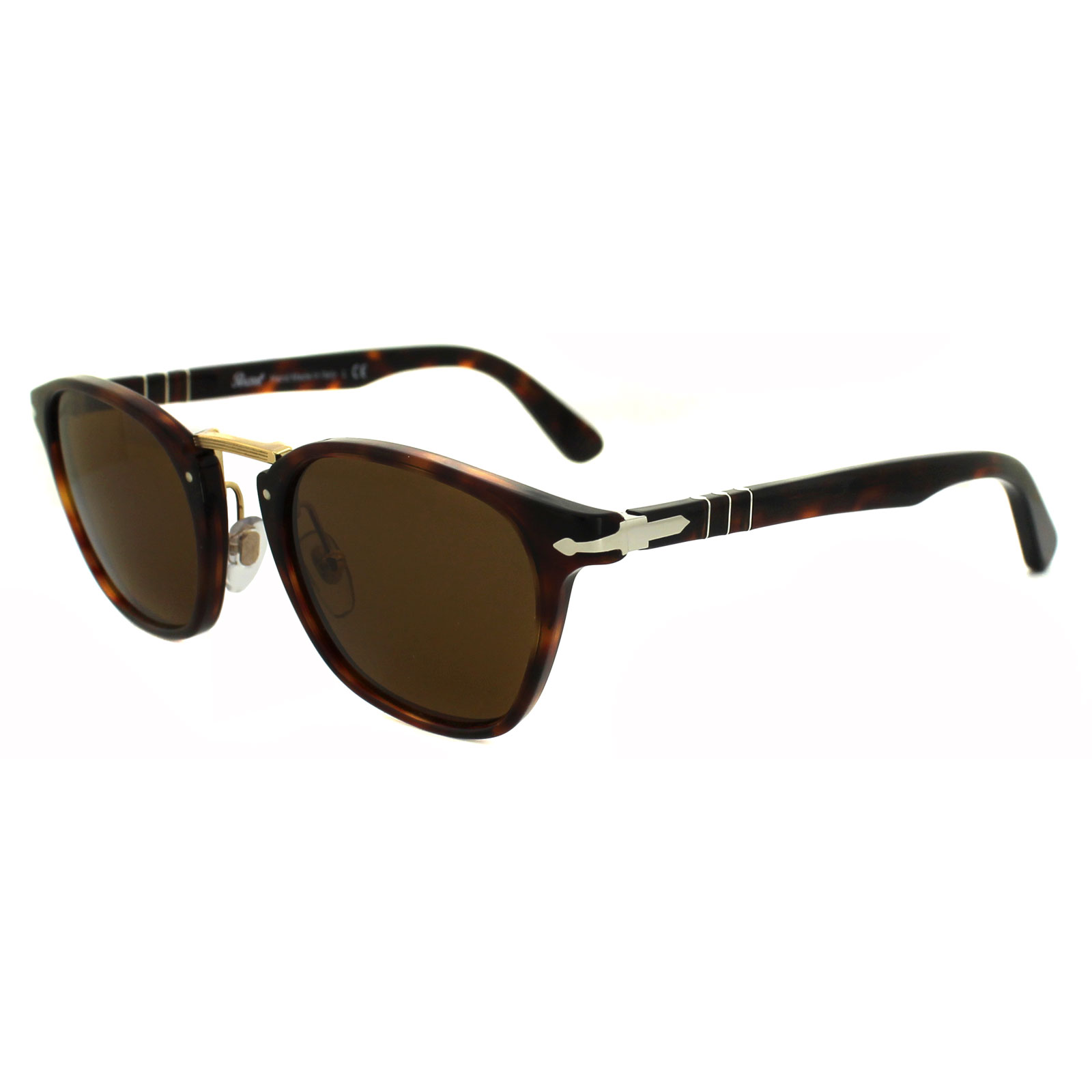 0a195f70979b Persol Sunglasses 3110 24/33 Havana Brown 8053672358445   eBay