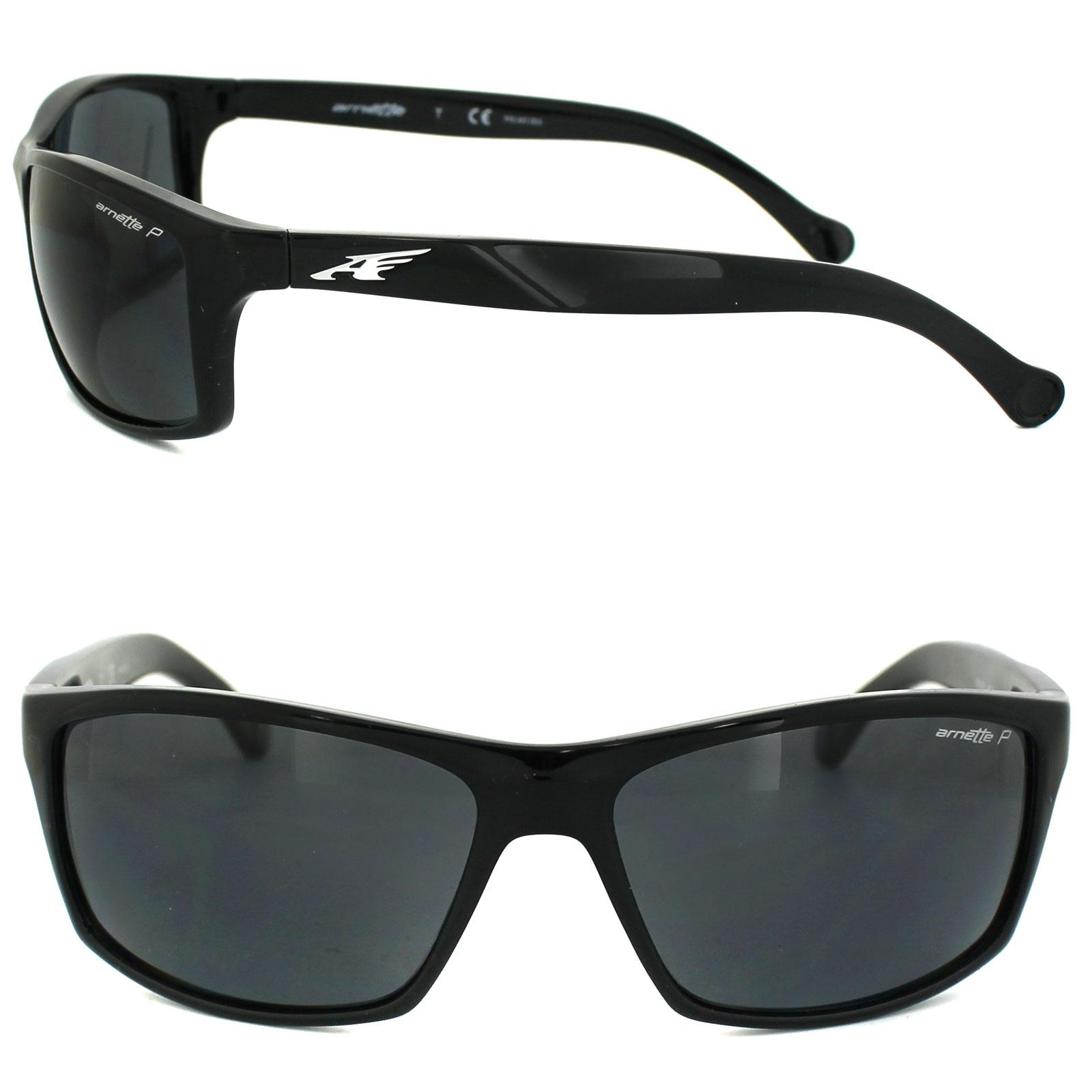 d77a86bc0e CENTINELA Arnette gafas de sol 4207 caldera 41/81 negro gris polarizado