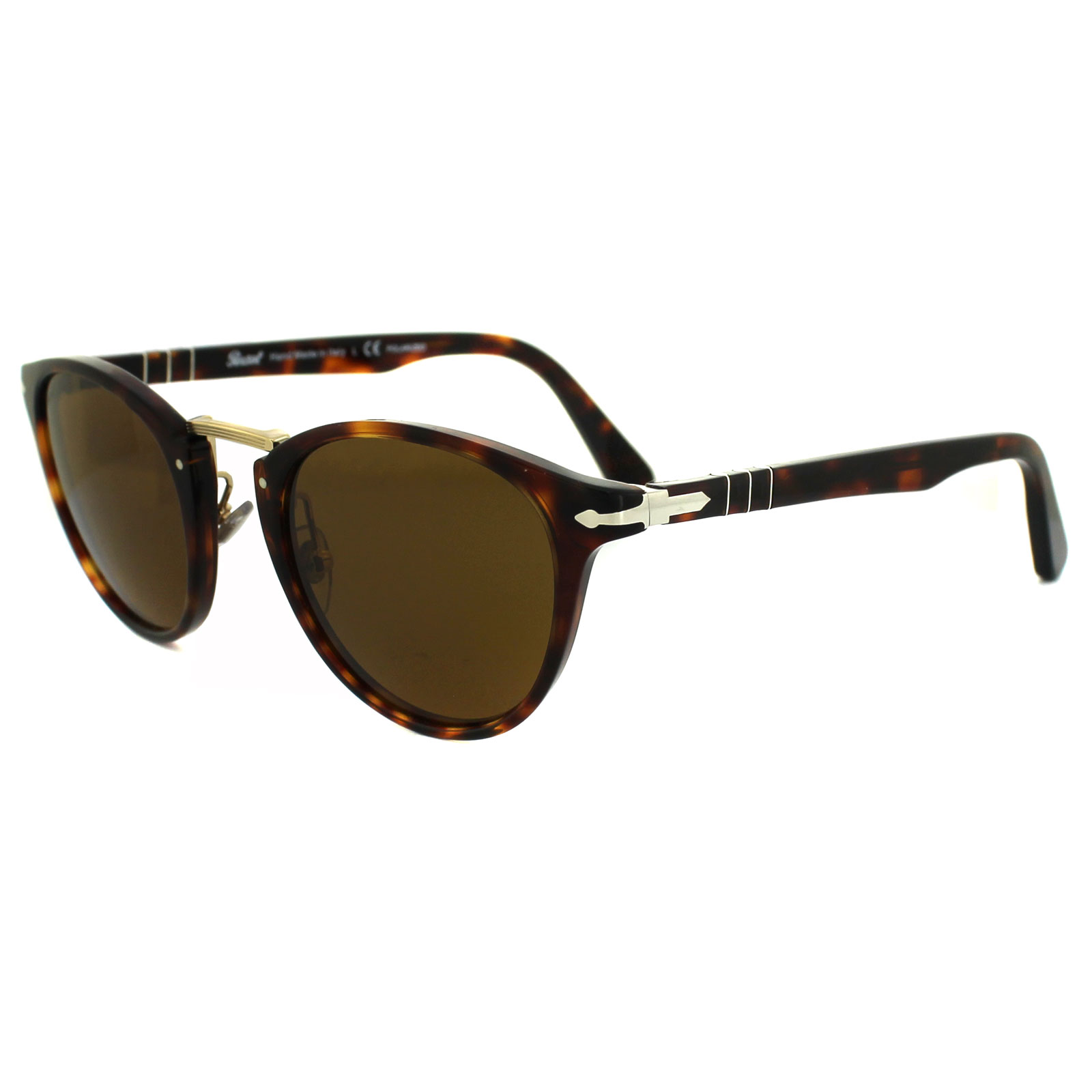 4257356ec99 Persol Sunglasses 3108S 24 33 Havana Brown 8053672358360