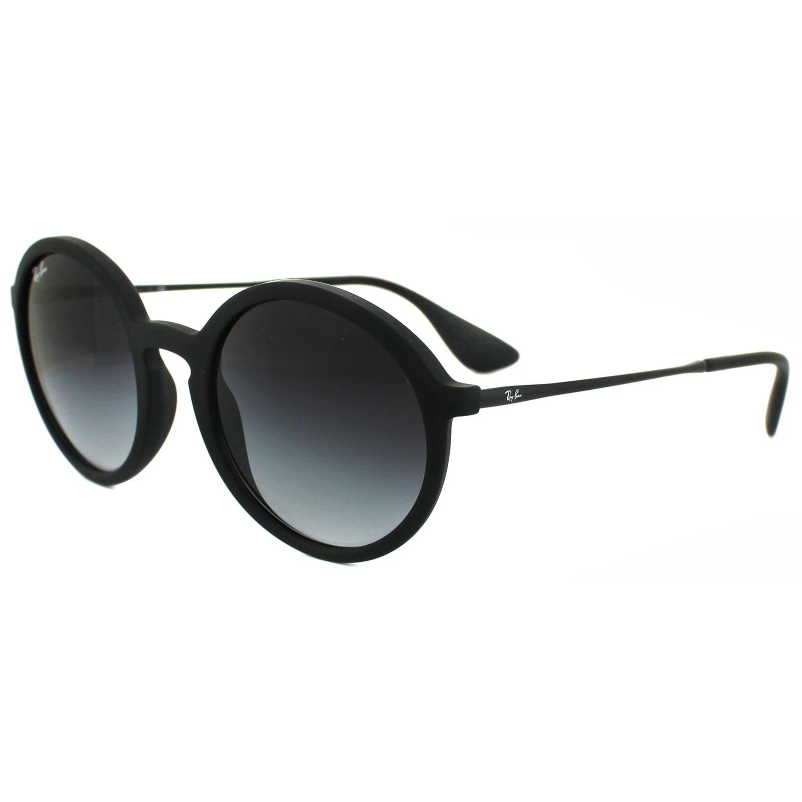 de679788acf Sentinel Ray-Ban Sunglasses 4222 622 8G Black Rubber Grey Gradient