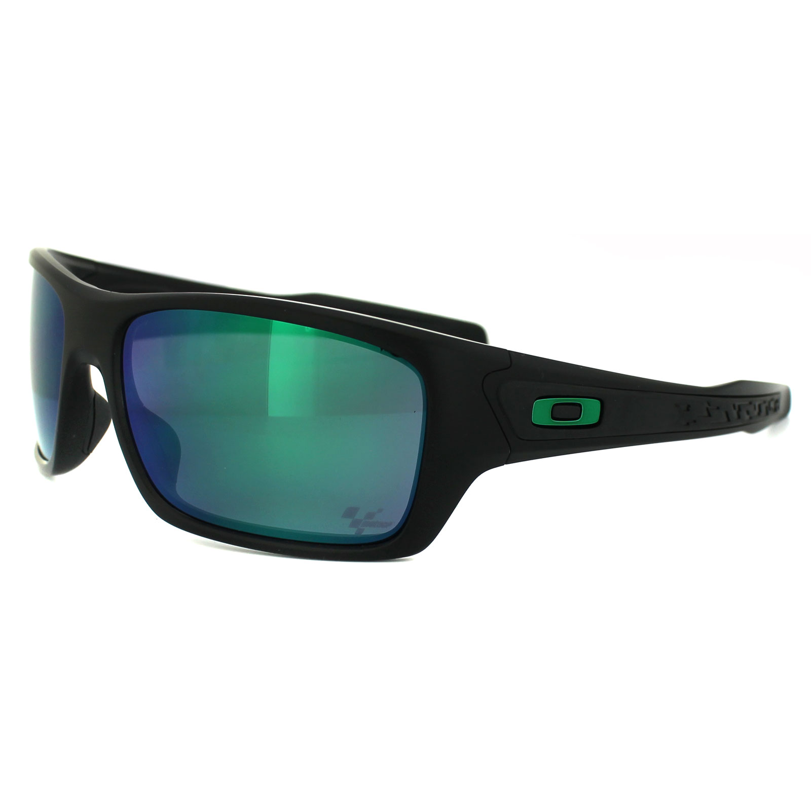 de75dacc06 Sentinel Oakley Sunglasses Turbine OO9263-15 Matt Black Jade Iridium Moto GP