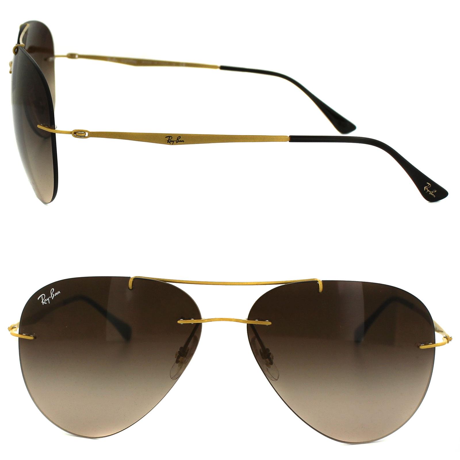 Cheap Ray Ban Aviator Light Ray 8055 Sunglasses