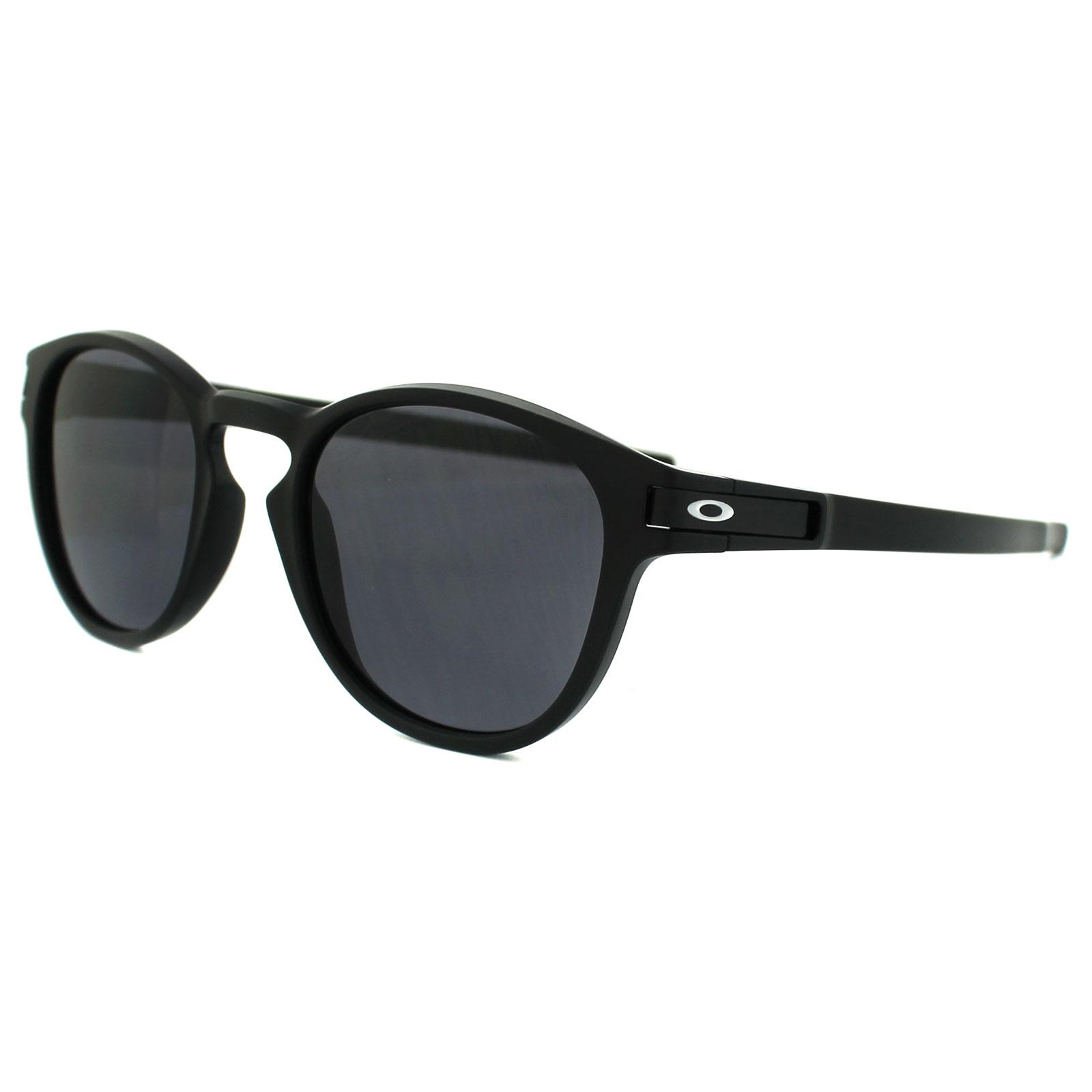 Sentinel Oakley Sunglasses Latch OO9265-01 Matt Black Grey 98e557c091