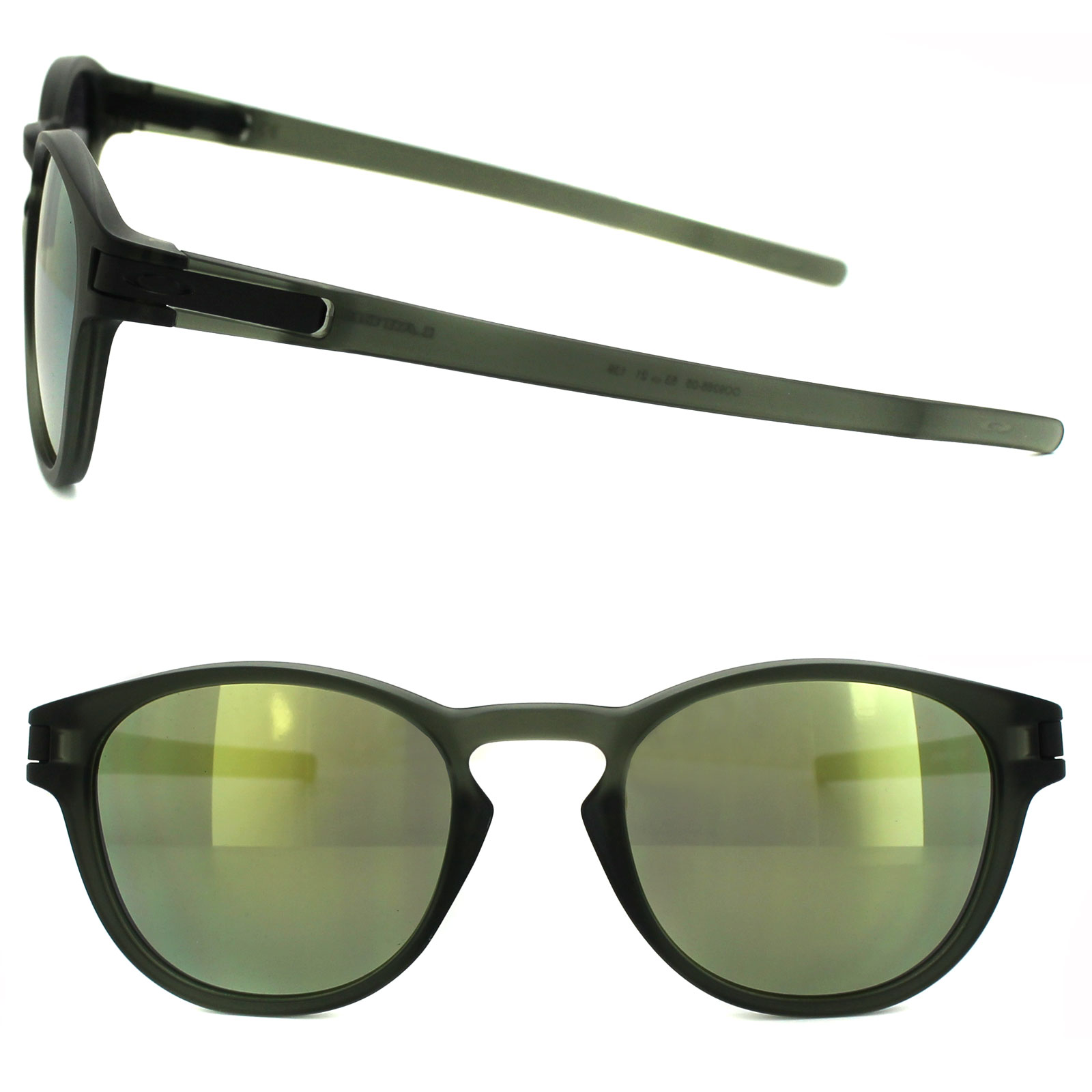 31be2ddf68 Sentinel Oakley Sunglasses Latch OO9265-05 Matt Olive Ink Emerald Iridium