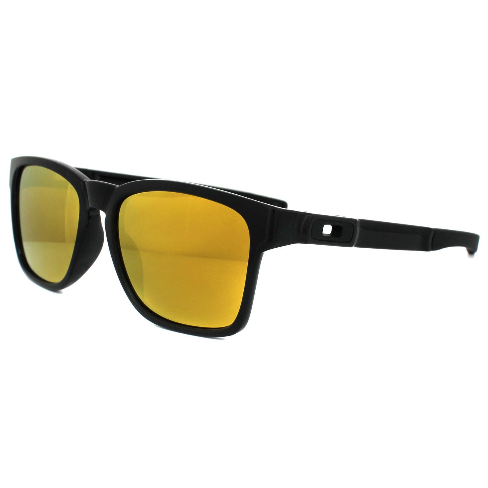 5201714734 Sentinel Oakley Sunglasses Catalyst OO9272-04 Polished Black 24K Iridium