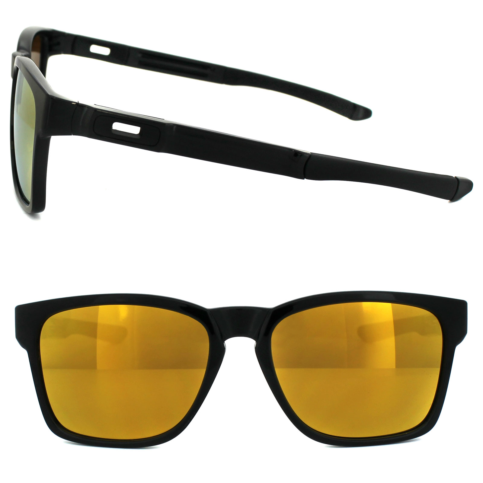 Sentinel Oakley Sunglasses Catalyst OO9272-04 Polished Black 24K Iridium 6e9a50b9d8