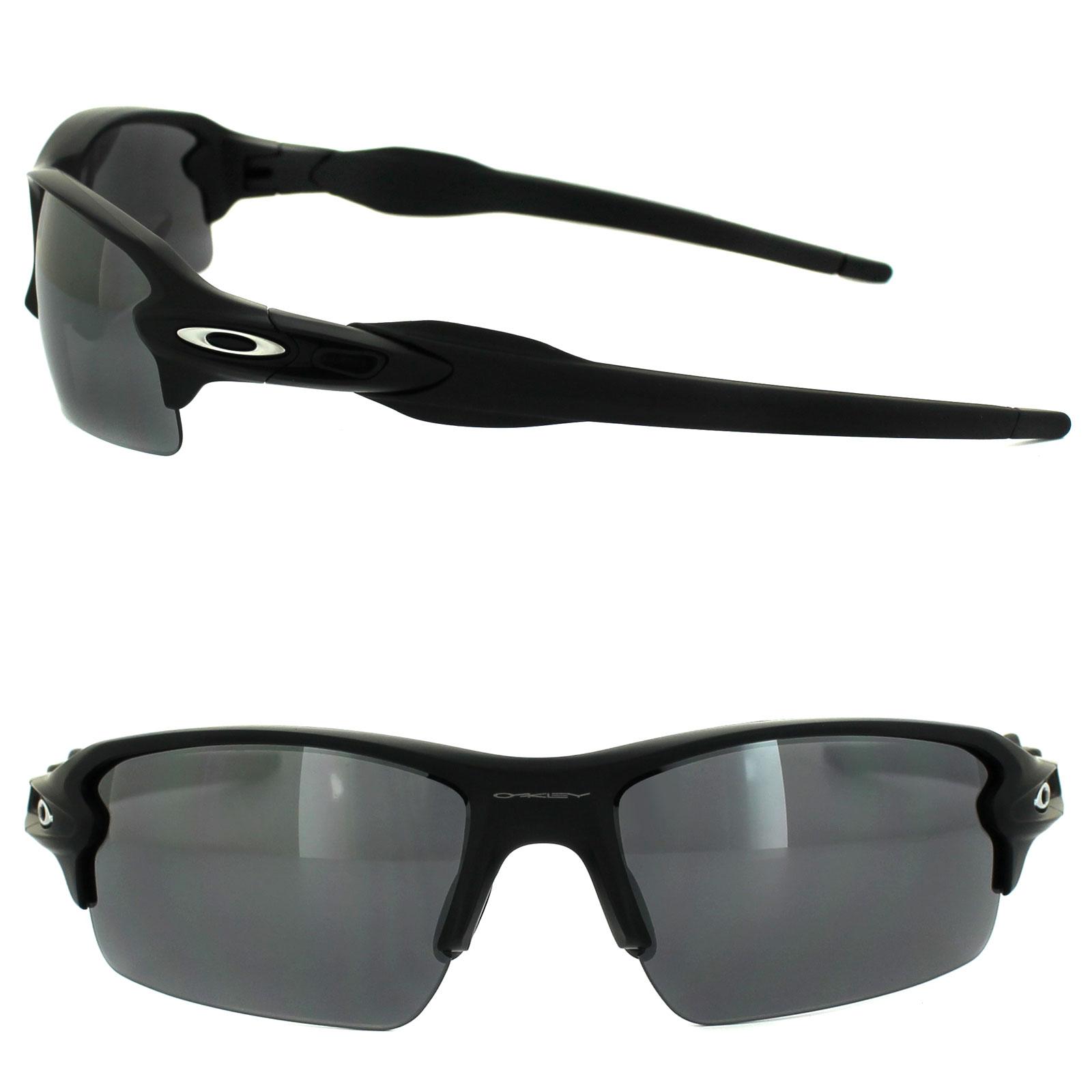 854b44e1d13 Sentinel Oakley Sunglasses Flak 2.0 OO9295-01 Matt Black Black Iridium