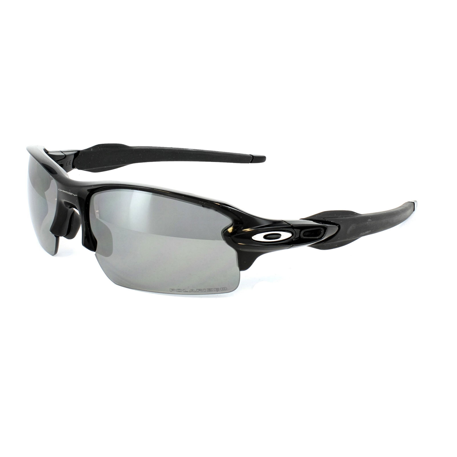 fabee7c32ef Sentinel Oakley Sunglasses Flak 2.0 OO9295-07 Polished Black Black Iridium  Polarized