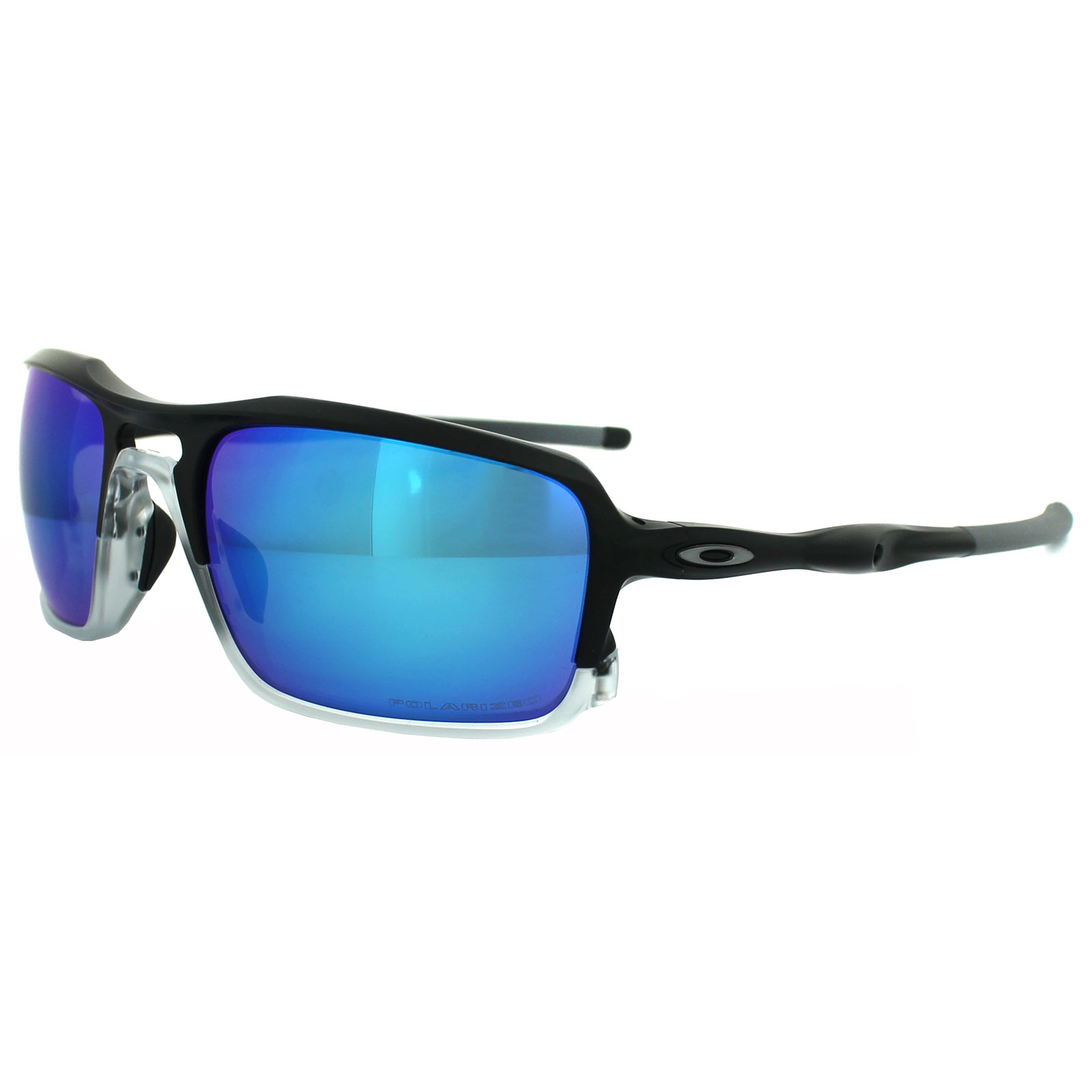 Oakley Triggerman Sonnenbrille Matte Black (Sapphire Iridium mbcLFd