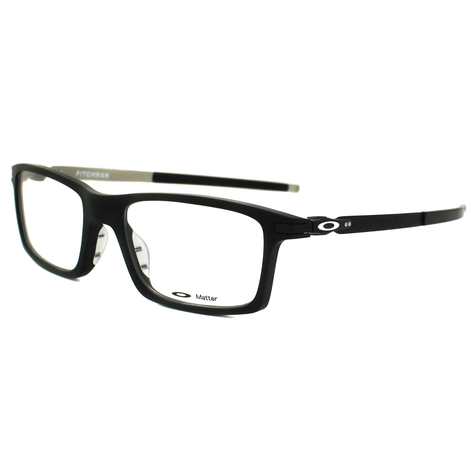 e078b06f52 Oakley Glasses Frames Pitchman OX8050-01-53 Satin Black 888392127594 ...