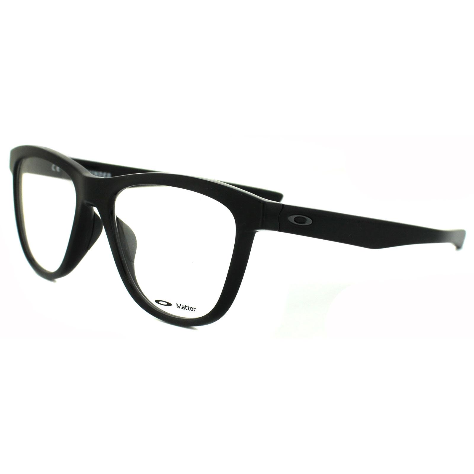 94ae30180e Oakley Glasses Frames Grounded OX8070-01 Polished Black 888392124753 ...
