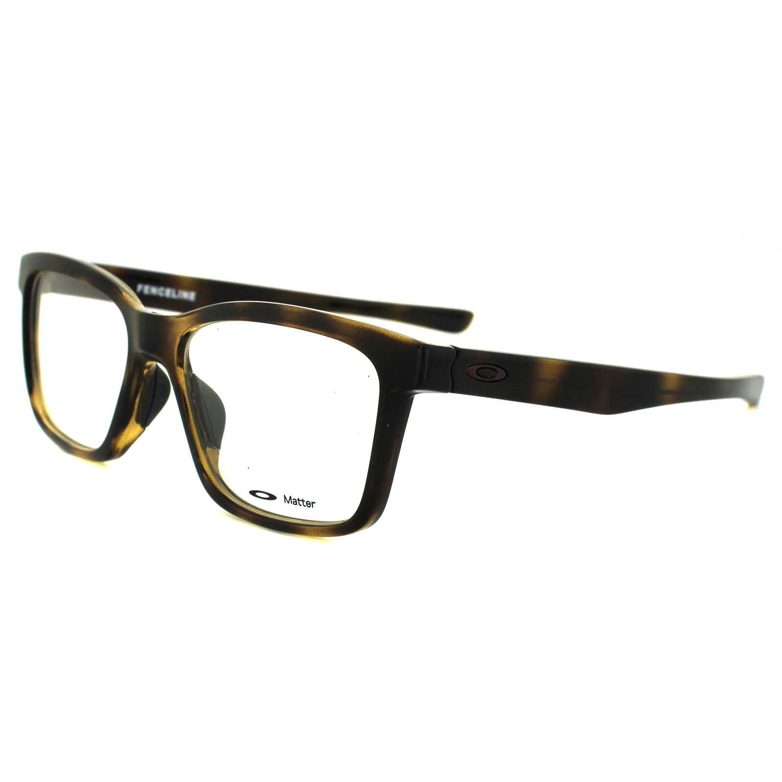 Oakley Glasses Frames Fenceline OX8069-02 Polished Tortoise ...