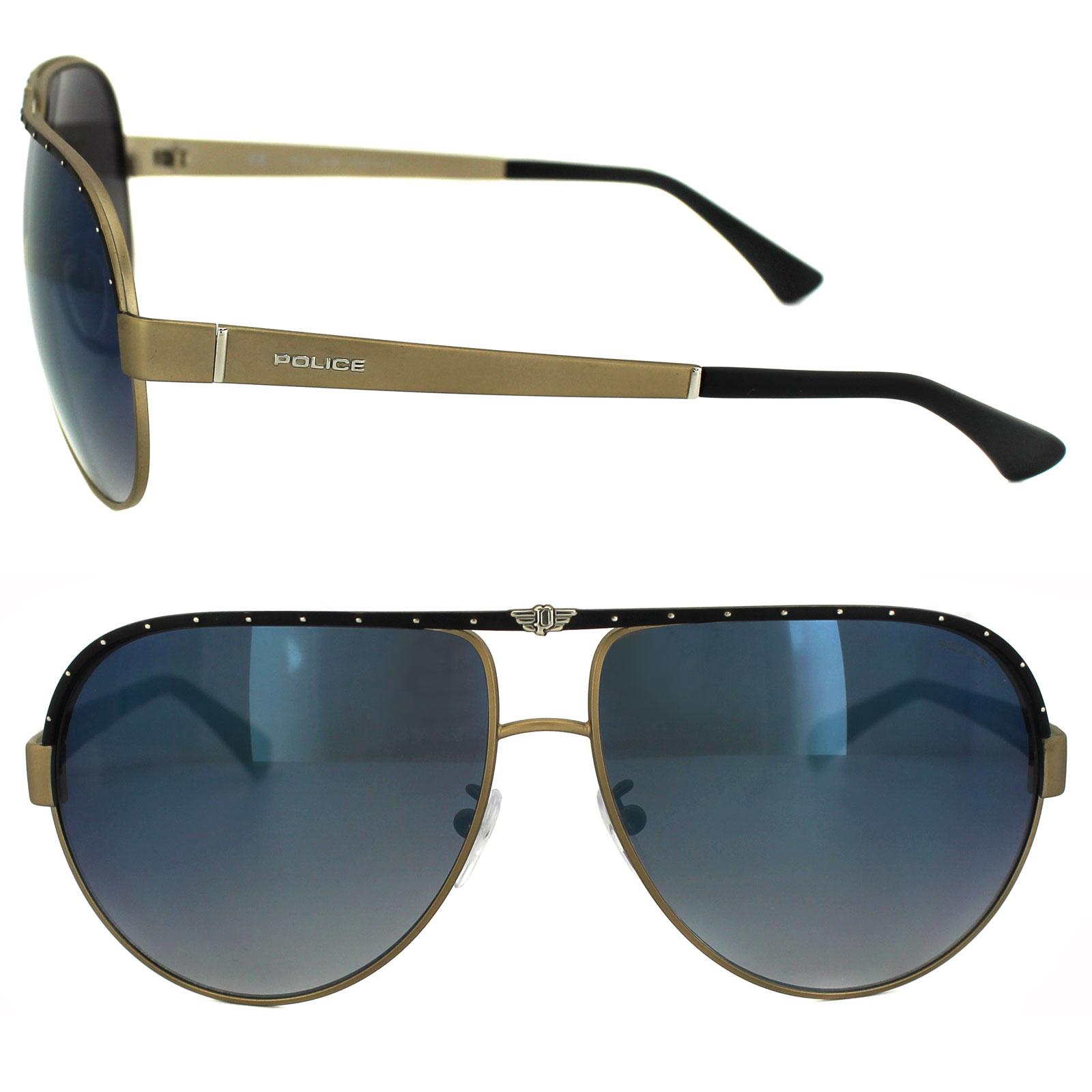 Police Sunglasses S8844 Spark 1 8H5X Gunmetal Grey