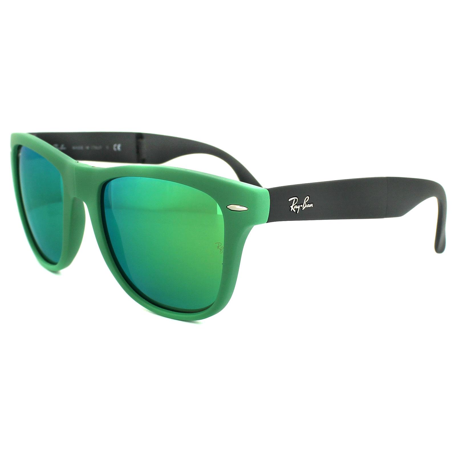 Cheap Ray Ban Sunglasses Folding Wayfarer 4105 602119 Matt