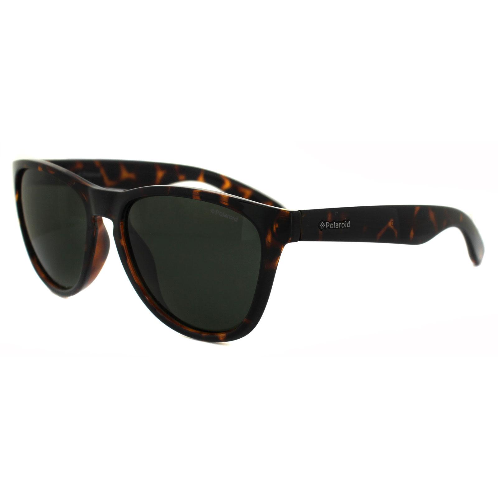 c1d12d3f4ae Sentinel Polaroid Plus Sunglasses PLD 1007 S V08 H8 Havana Green Polarized