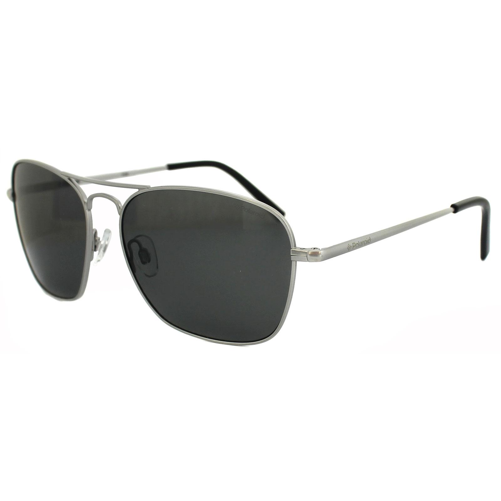 ed5afc536d5 Sentinel Polaroid Plus Sunglasses PLD 1003 S O11 AH Matt Palladium Grey  Polarized