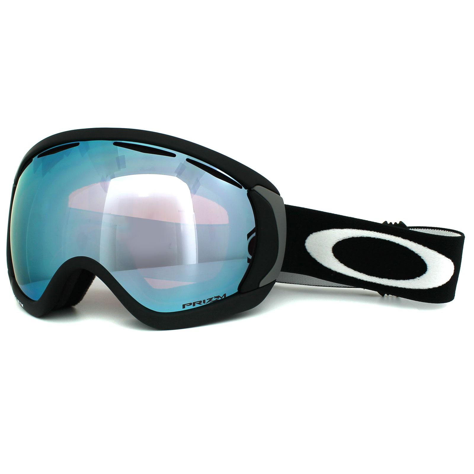 2fdb6755f741 Sentinel Oakley Ski Snow Goggles Canopy OO7047-45 Matt Black Prizm Sapphire  Iridium