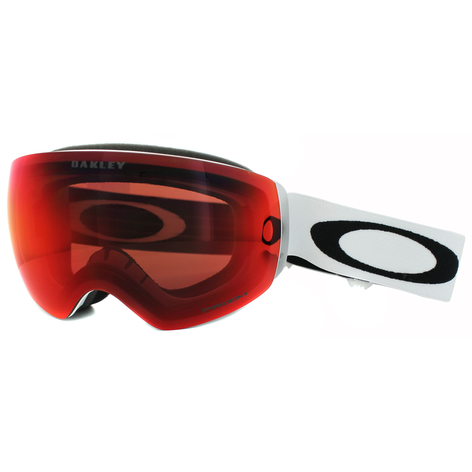 cb136c47ca Sentinel Oakley Ski Snow Goggles Flight Deck XM OO7064-24 Matt White Prizm  Torch Iridium
