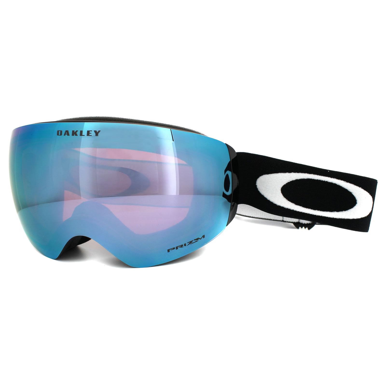 456c4dc565 Sentinel Oakley Ski Snow Goggles Flight Deck XM OO7064-41 Black Prizm  Sapphire Iridium