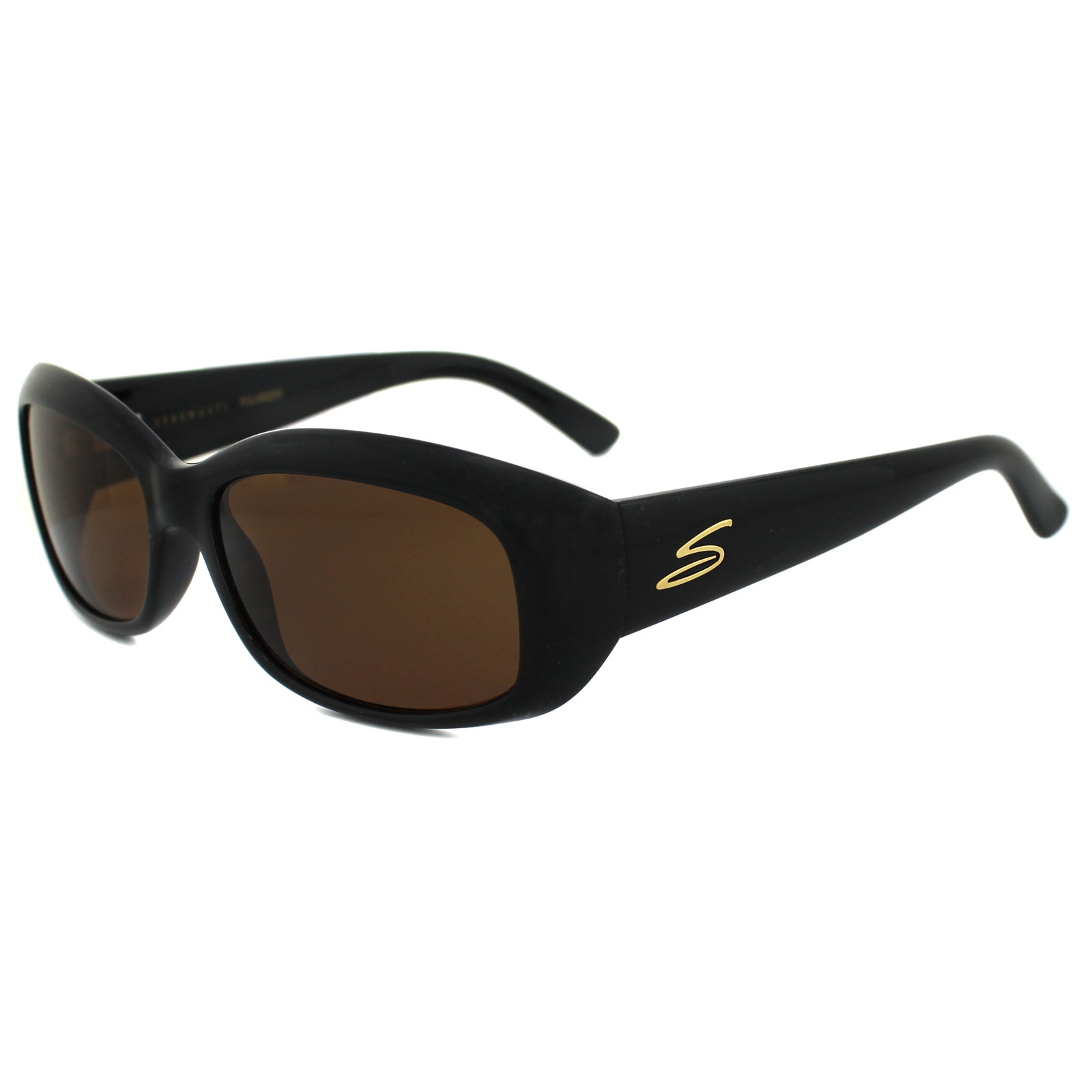 0ecb9eadab Sentinel Serengeti Sunglasses Bianca 7368 Black Drivers Brown Polarized