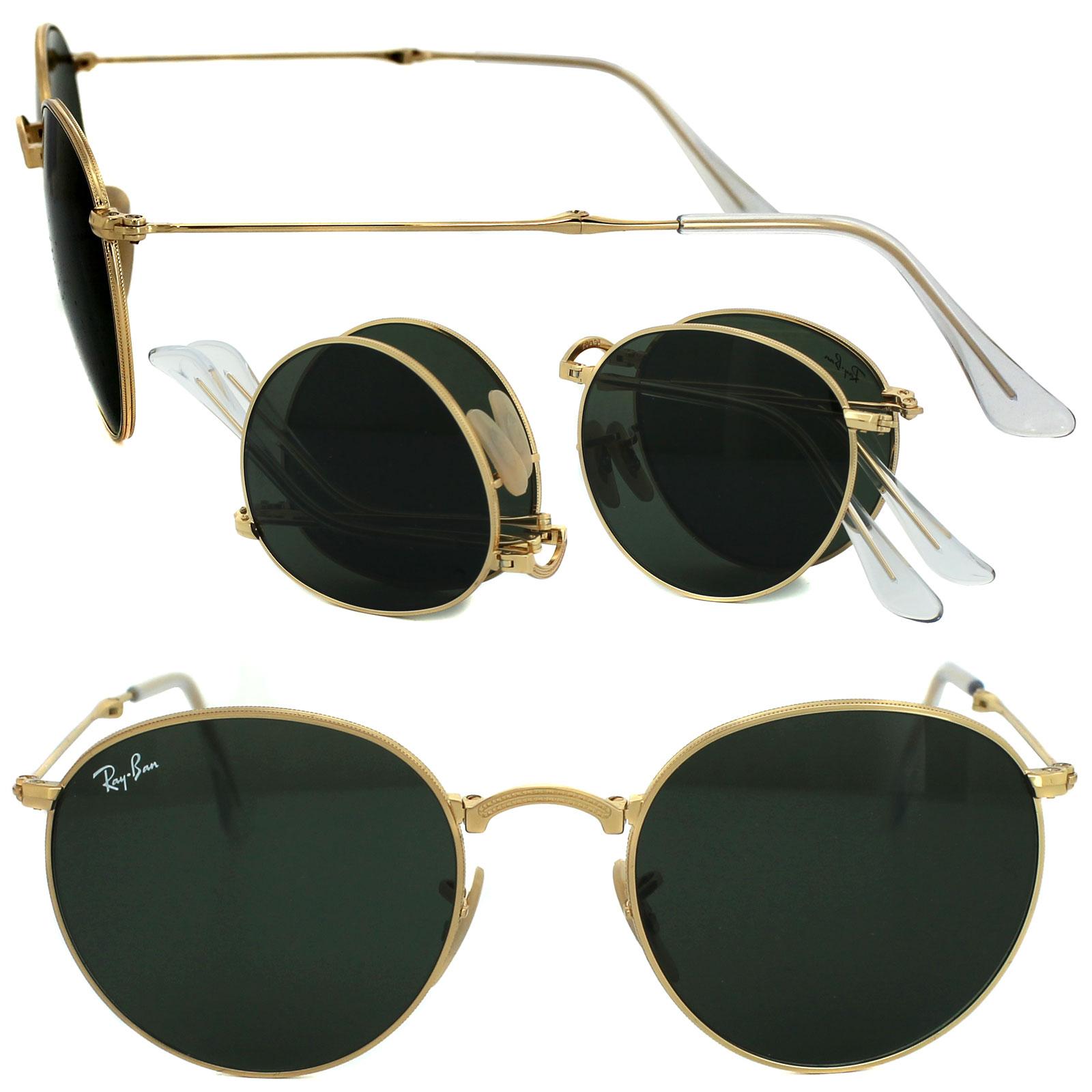 2594ebb7f12f9 Cheap Ray-Ban Round Folding 3532 Sunglasses - Discounted Sunglasses
