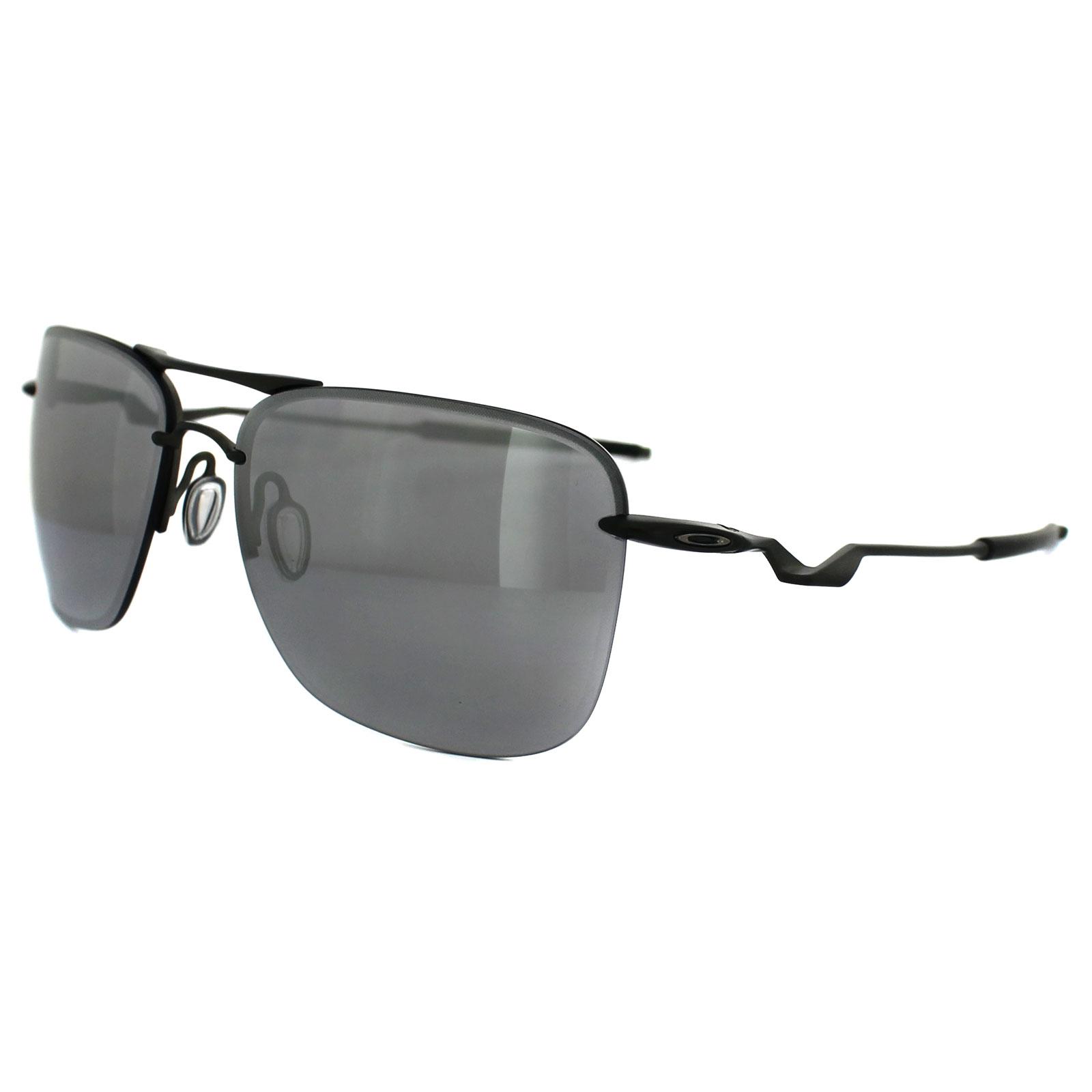 279643f24471a Sentinel Oakley Sunglasses Tailhook OO4087-02 Carbon Chrome Iridium