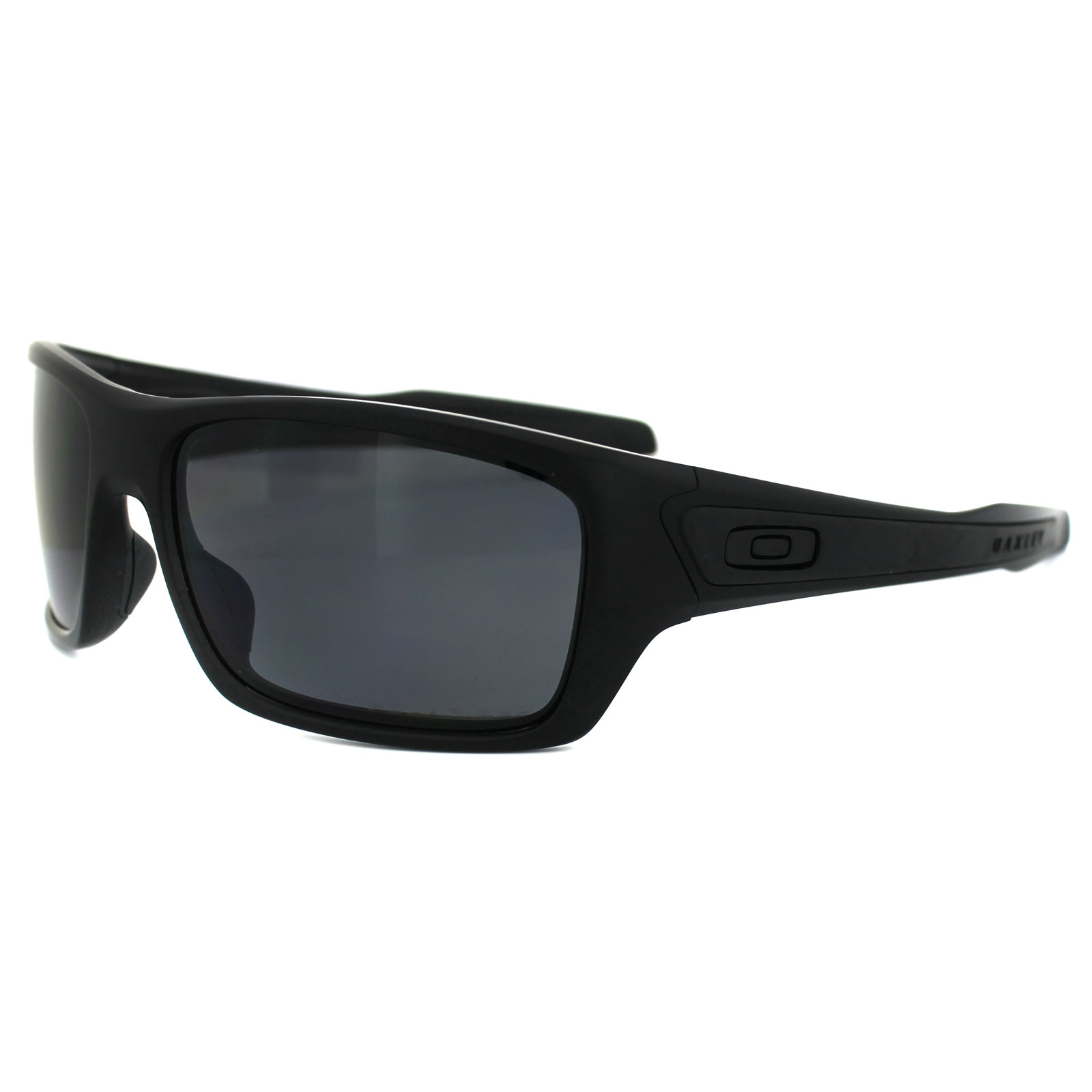 514556c18a Sentinel Oakley Sunglasses Turbine OO9263-07 Matte Black Grey Polarized