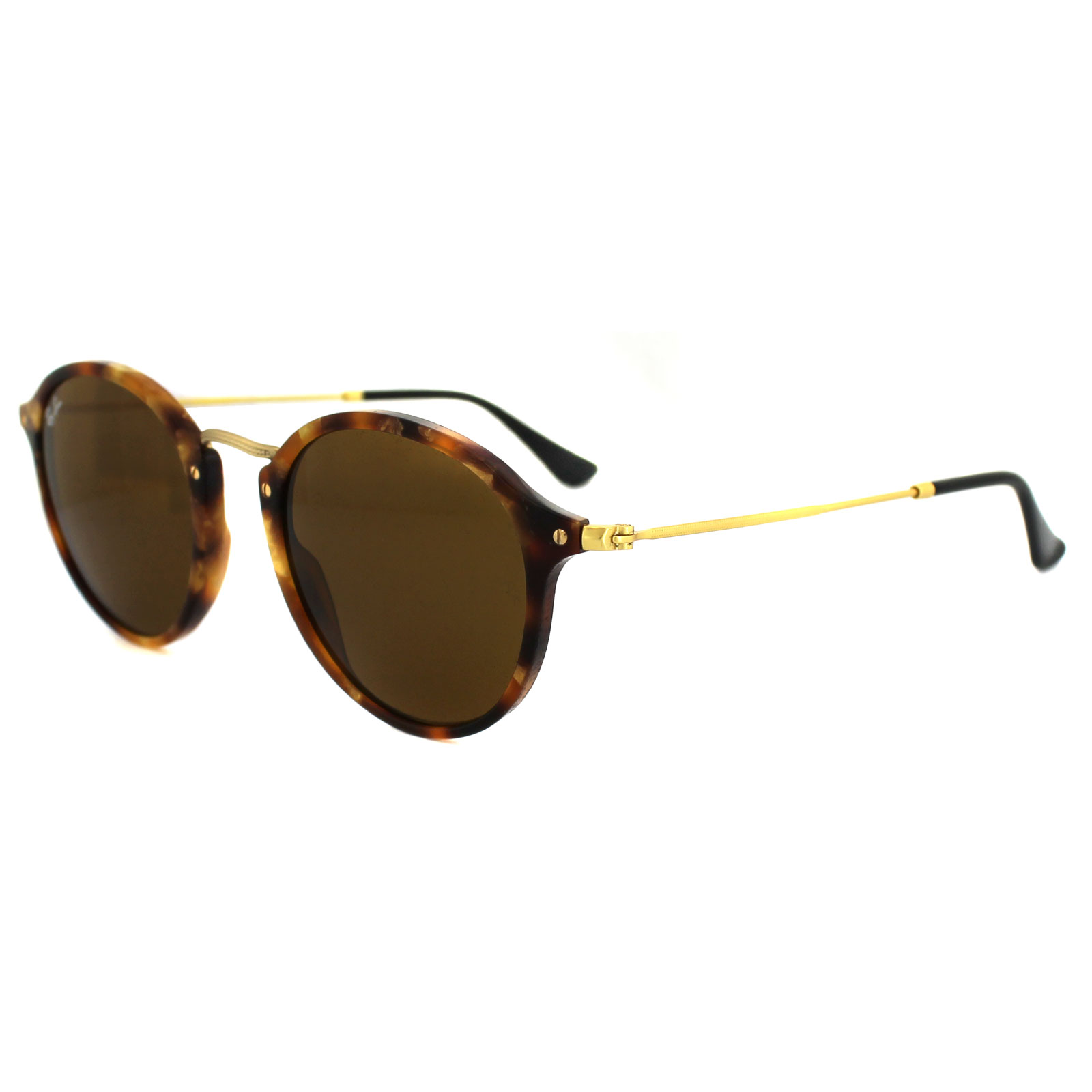 Sentinel Ray-Ban Sunglasses Round Fleck 2447 1160 Tortoise   Gold Brown 14d7465ff1