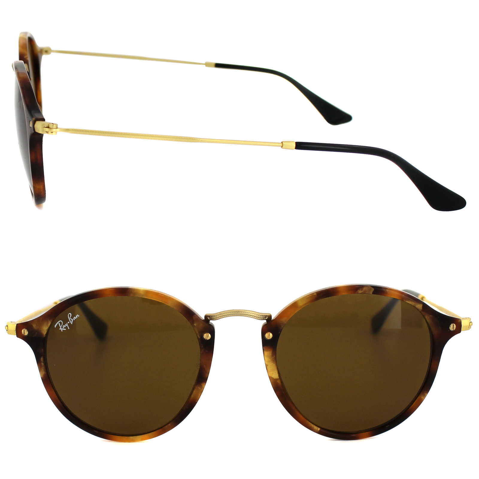 e2bd1a1295f Ray-ban Round Rb 2447 Sunglasses - Tortoise - Bitterroot Public Library