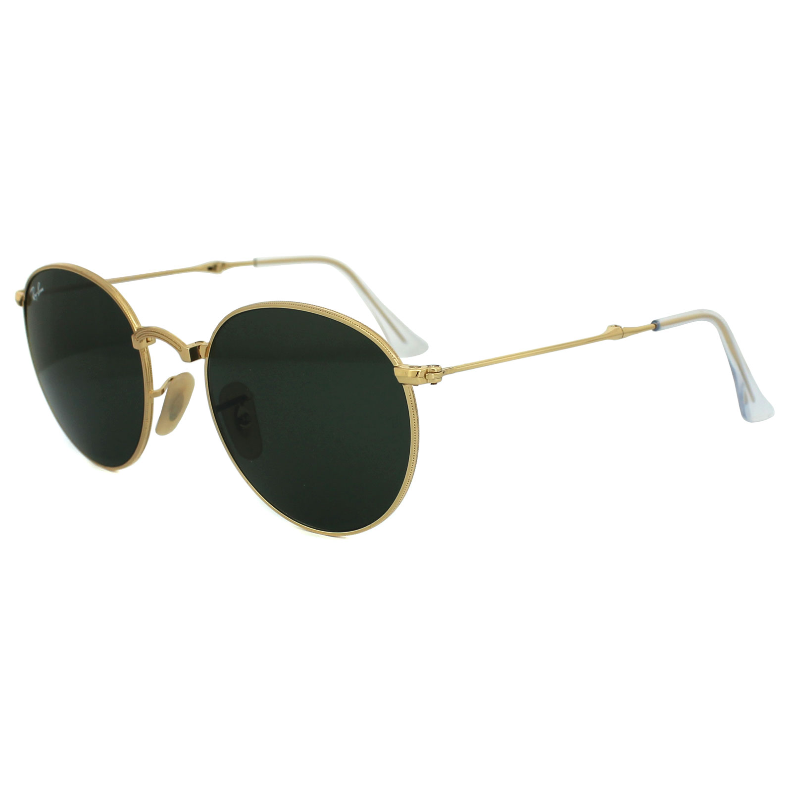 21ad251fd34 Ray-Ban Sunglasses Round Folding 3532 001 Gold Green 8053672497809 ...