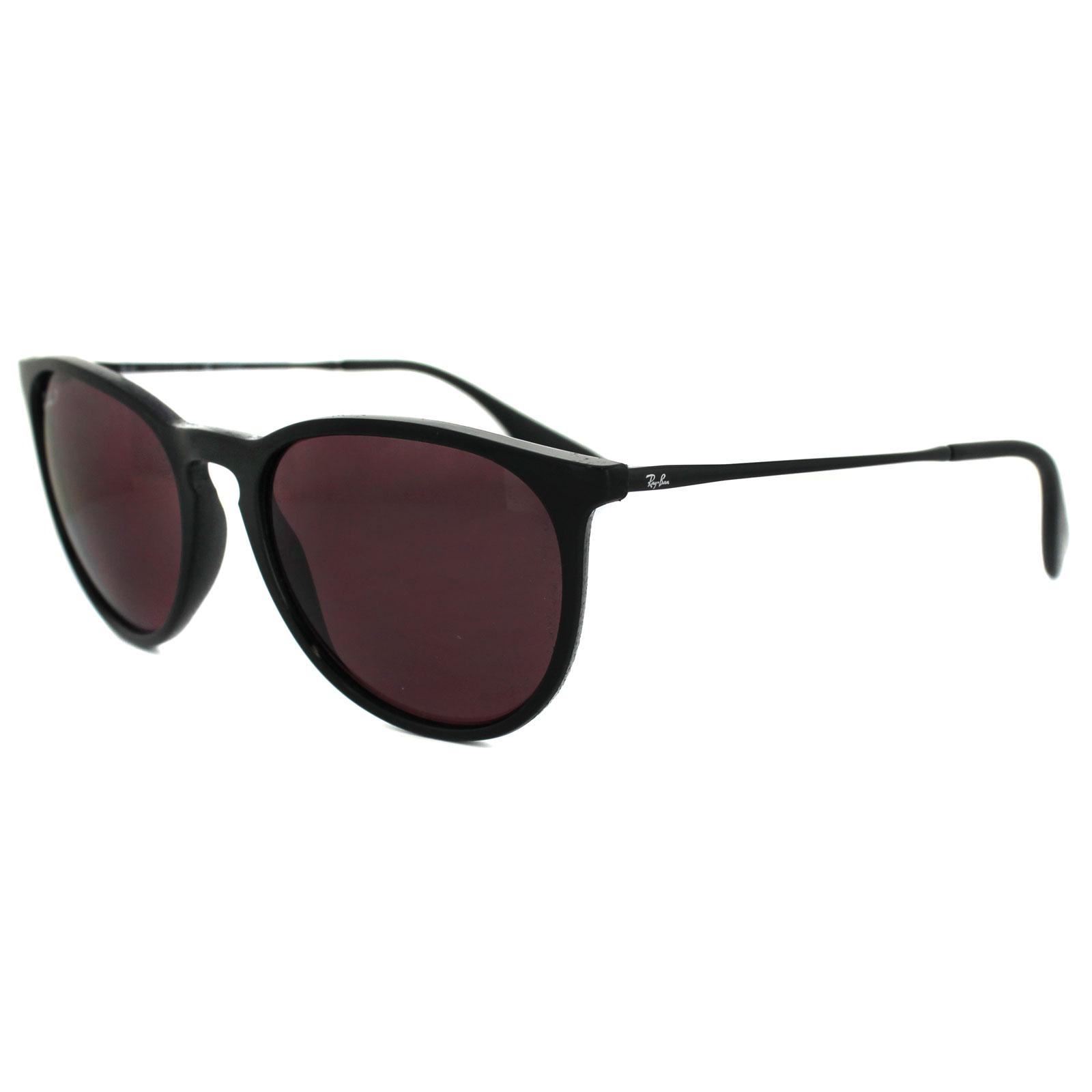 d712cbc6a4 Sentinel Ray-Ban Sunglasses Erika 4171 601 5Q Black Violet Mirror Polarized