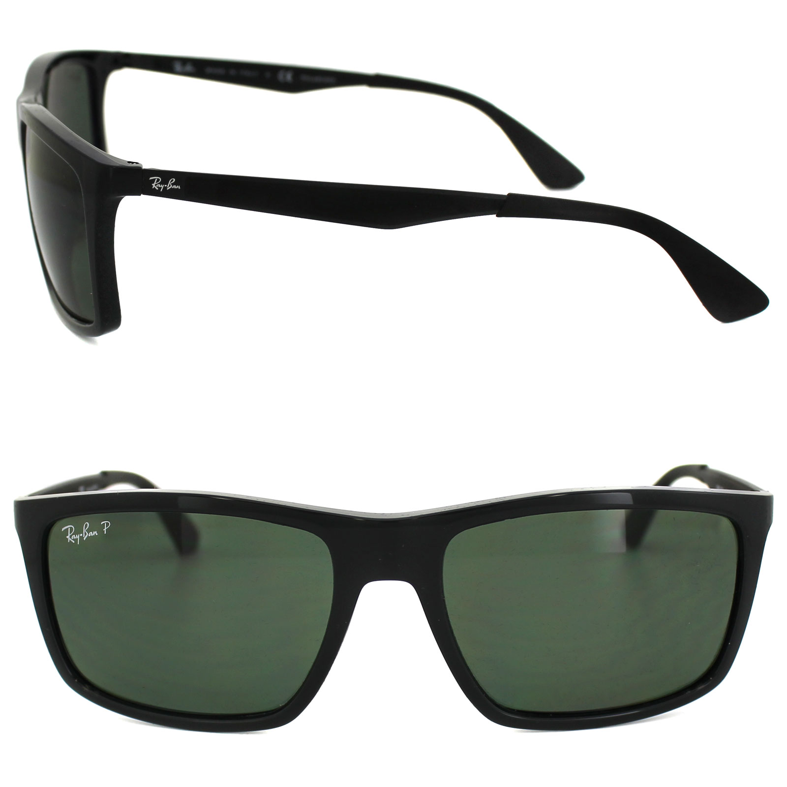 cceacb7cb2 Ray-Ban Sunglasses 4228 601 9A Black Green Polarized 8053672406030 ...