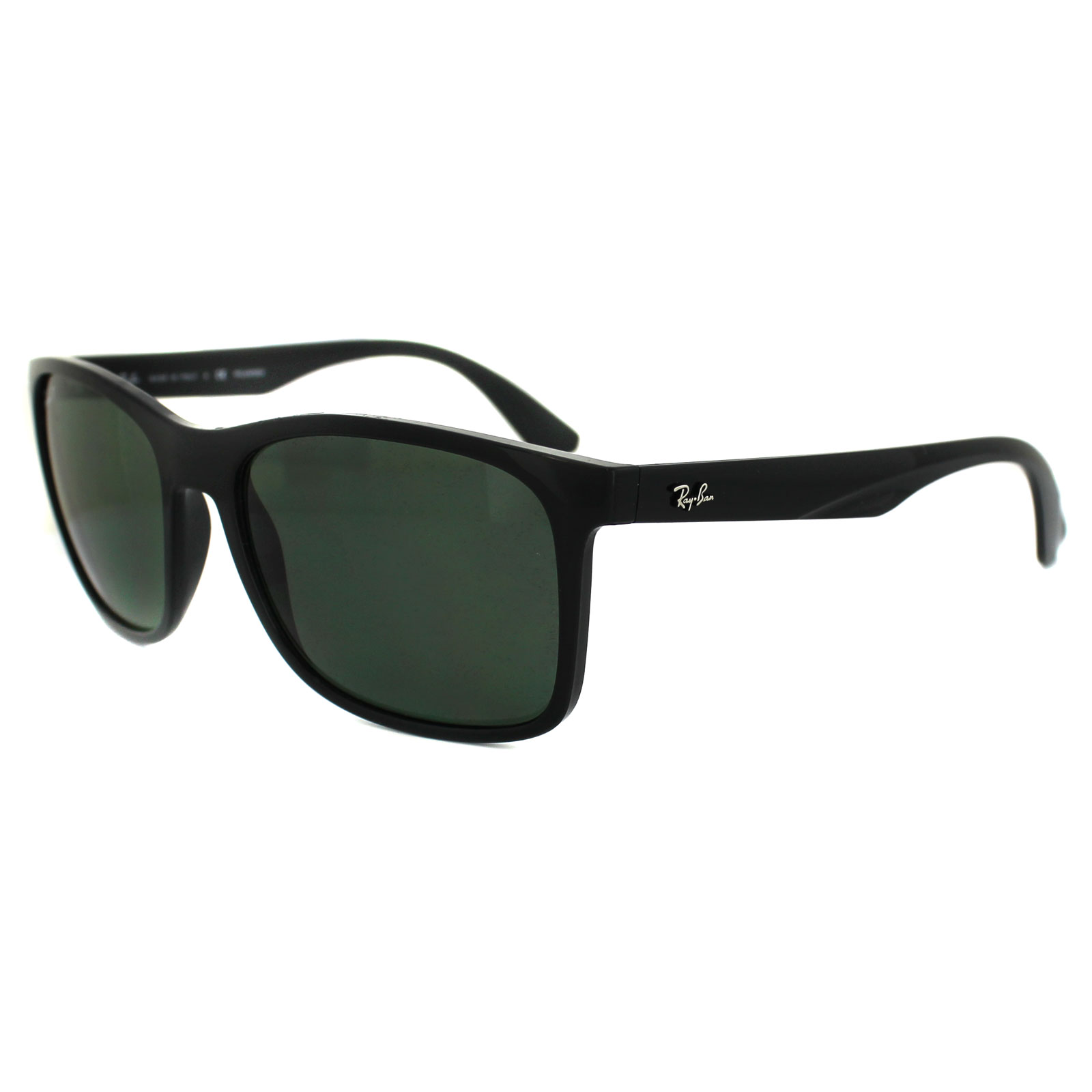 e0bb868df1a Details about Ray-Ban Sunglasses 4232 601 9A Black Green Polarized