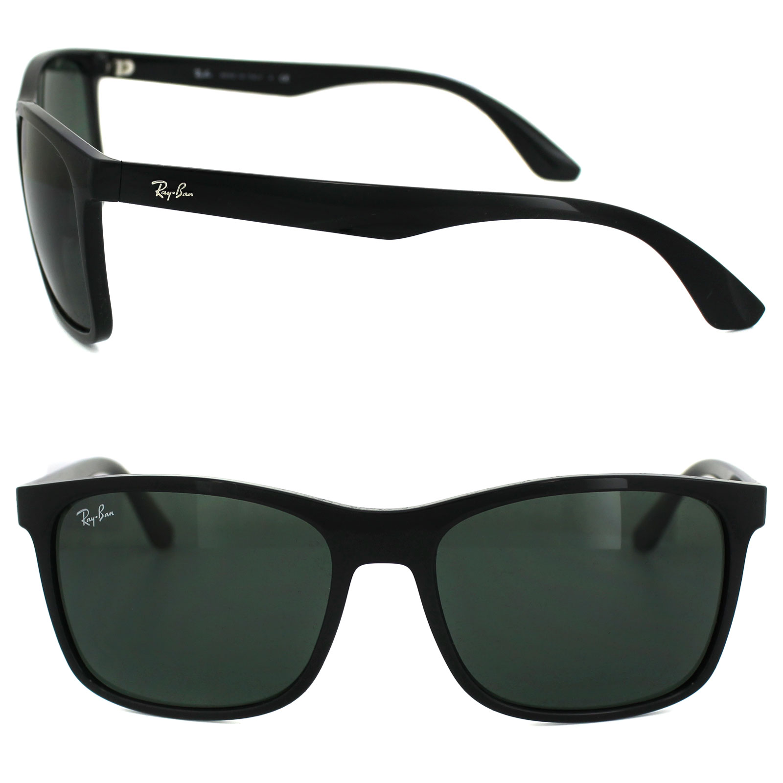 232e754401 Ray-Ban Sunglasses 4232 601 71 Black Green 8053672498202