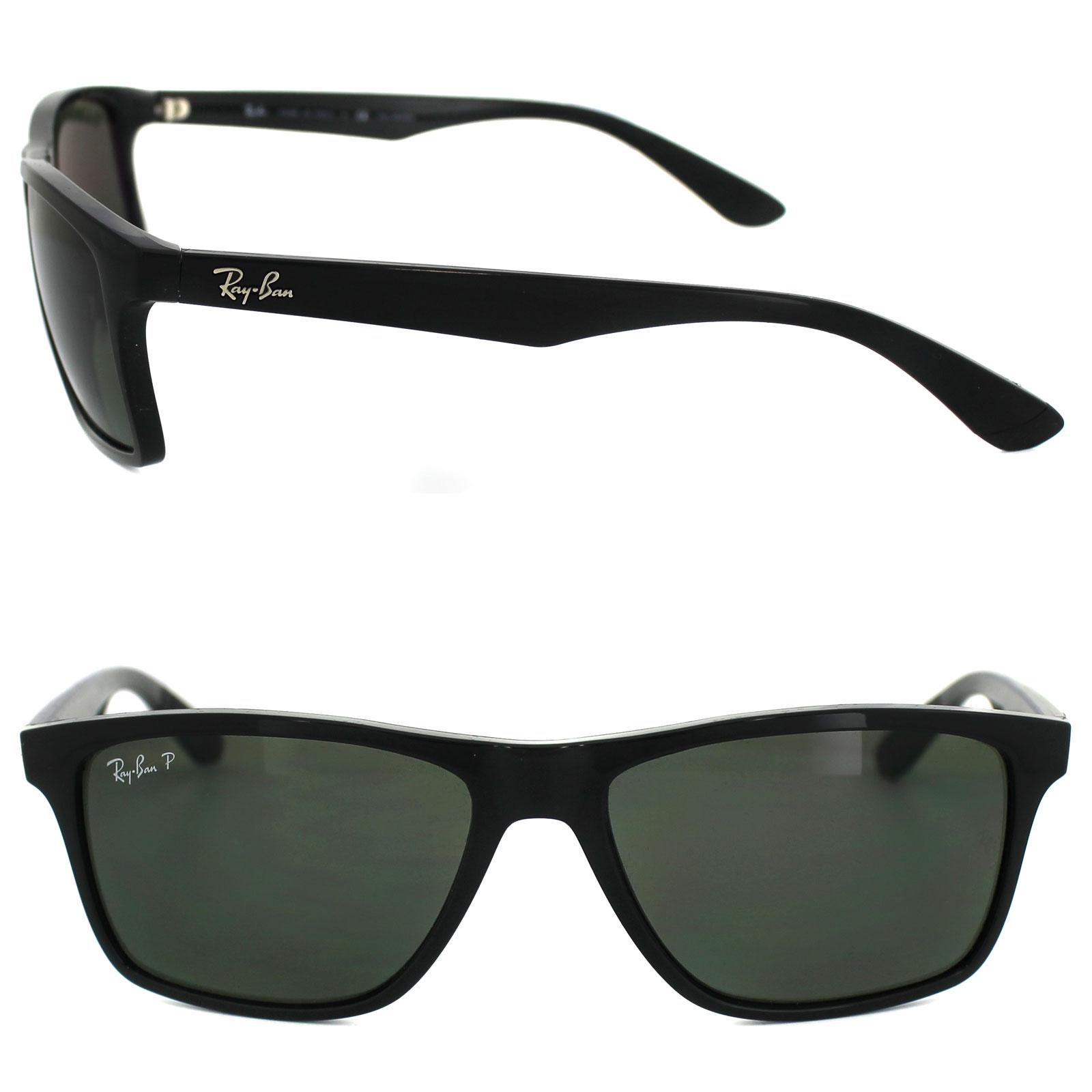 1d756e4dbde Ray-Ban Sunglasses 4234 601 9A Black Green Polarized 8053672497960 ...