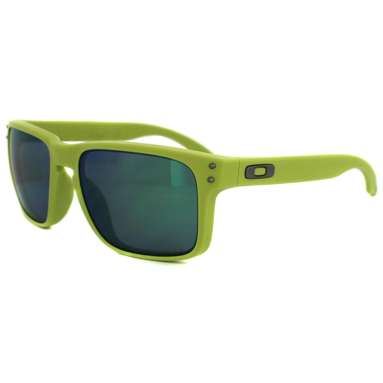3b89e0815b Sentinel Oakley Sunglasses Holbrook OO9102-72 Matte Fern Jade Iridium  Polarized