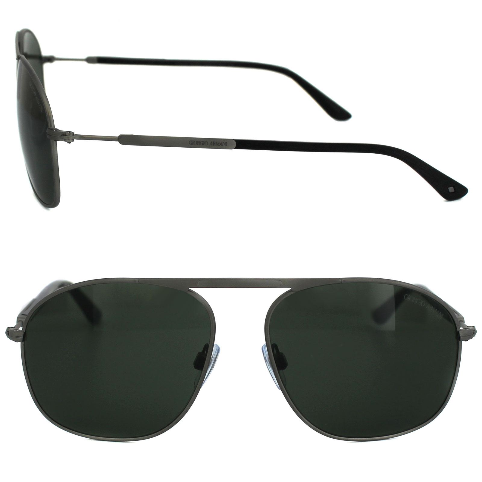 70d2a88cf7d6 Sentinel Thumbnail 2. Sentinel Giorgio Armani Sunglasses AR6015 303231 Matt  Brushed Ruthenium ...