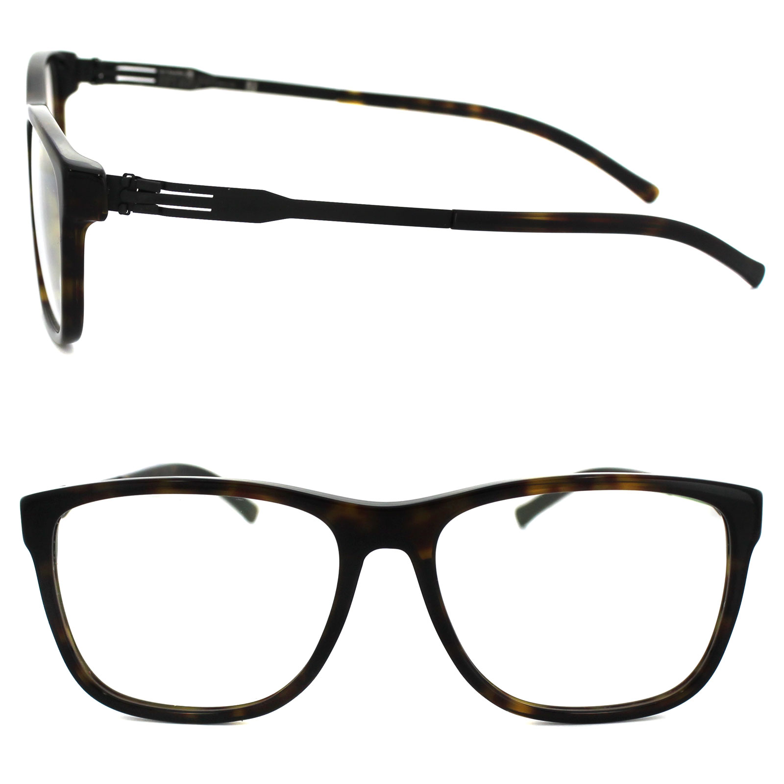 ic! berlin Glasses Frames Toni K. A0611708002708007fg Havana & Black ...