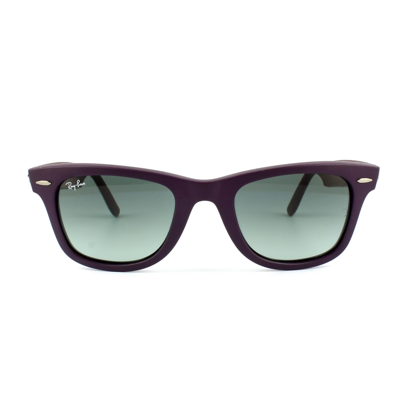 8fcdb60023 Ray-Ban Sunglasses Wayfarer 2140 606471 Violet Camo Grey Gradient Medium  8053672164602