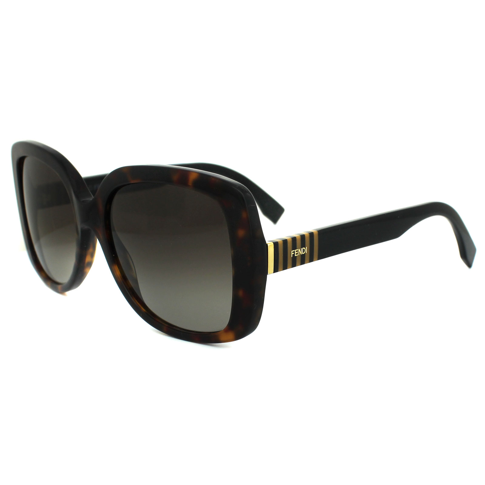 2d54a0c4840 Sentinel Fendi Sunglasses Pequin FF 0014 S 7TO HA Havana   Black Brown  Gradient