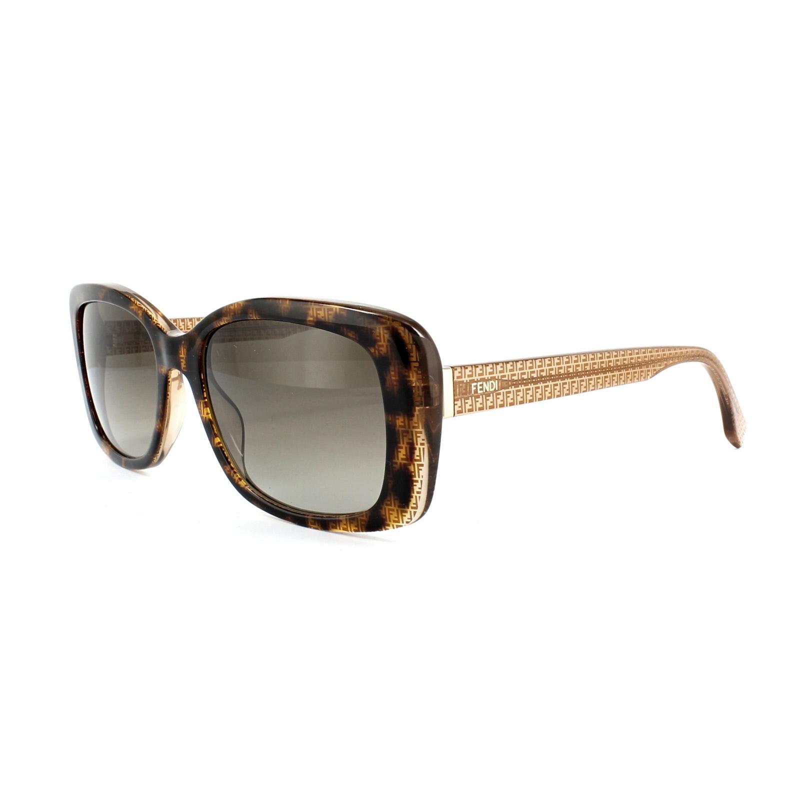 df4cb0676fd Sentinel Fendi Sunglasses Micrologo FF 0002 S 7PL HA Havana Beige Brown  Brown Gradient